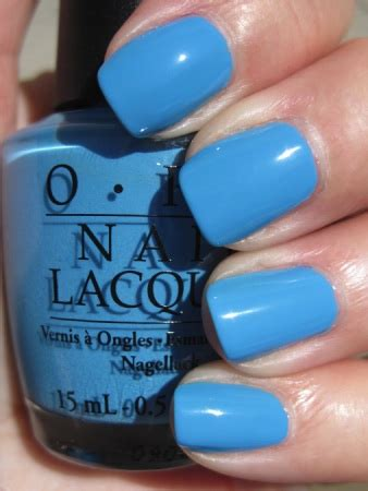 opi no room for the blues opi bright pair nail polishes for summer 2009 makeup and