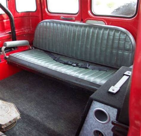 fj40 bench seat did fj40 land cruiser s ever come with a rear bench seat