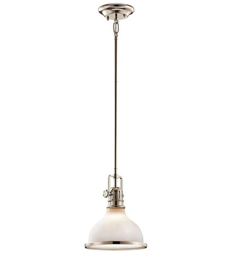 Nautical Light Fixture by Kichler 43764pn Hatteras Bay Nautical Polished Nickel Mini