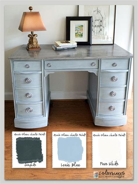 desk painted 17 best images about chalk paint vanity desk the