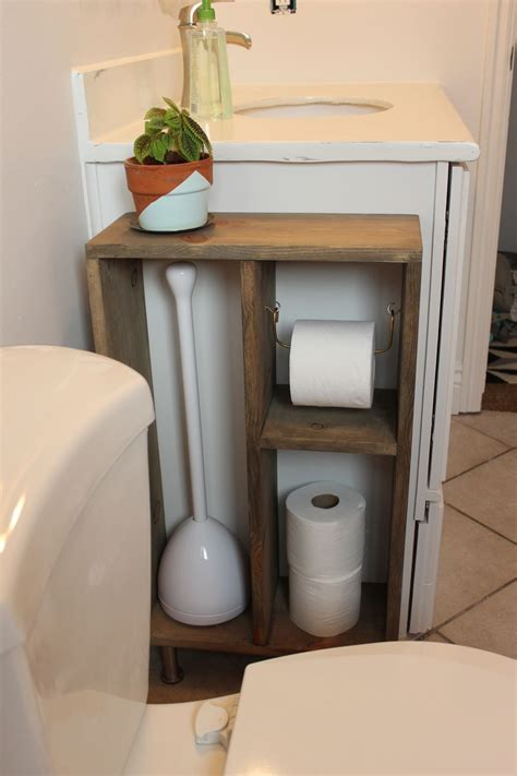 Make Toilet Paper Holder - diy simple brass toilet paper holder