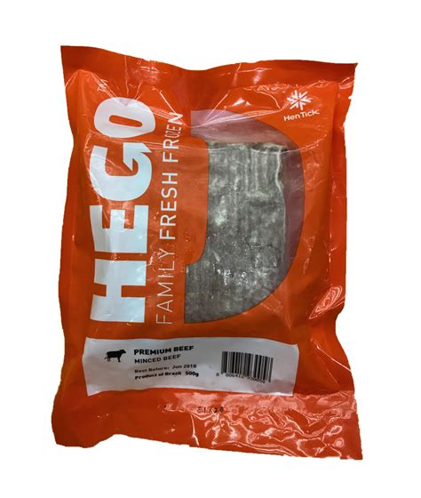 Alpo Beef 1 5kg hego premium minced beef 500g frozen chilled products