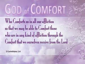 The God Of All Comfort Kjv 2 Corinthians 1 4 Verse Of The Day