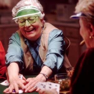 gambling seniors staying young  playing poker