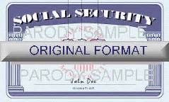 make a social security card template international driver s licenses and id novelty
