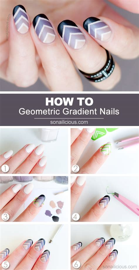 tutorial nail art gradient roman holiday gradient nail art tutorial