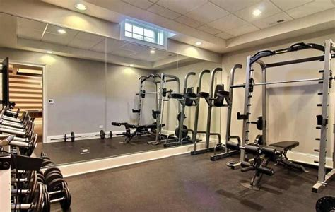 Finished Basement Floor Plan Ideas by Tips For Turning The Basement Into A Home Gym