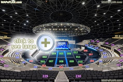 Capital Fm Arena Floor Plan by Hydro Arena Seating Plan 01 Detailed Seat Numbers Chart