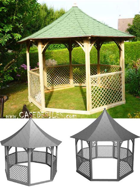 Beau Bache Pour Tonnelle De Jardin #1: kiosque-bois-octogonal-pavillon-KIC35.jpg