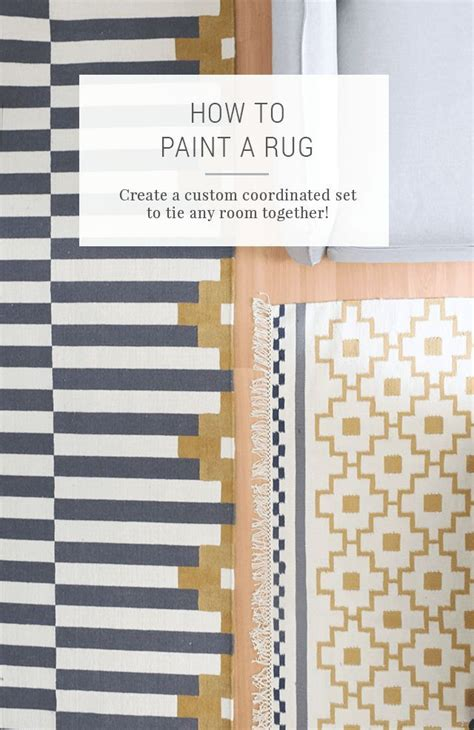 How To Paint An Area Rug 25 Unique Paint A Rug Ideas On Decorative Rugs Living Room Decor Guide And Cottage