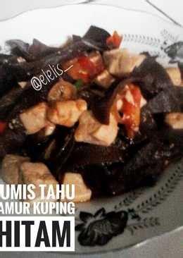 resep jamur kuping hitam enak  sederhana cookpad