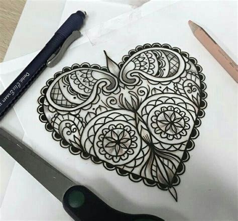tattoo mandala heart 17 best images about tattoos on pinterest two hearts