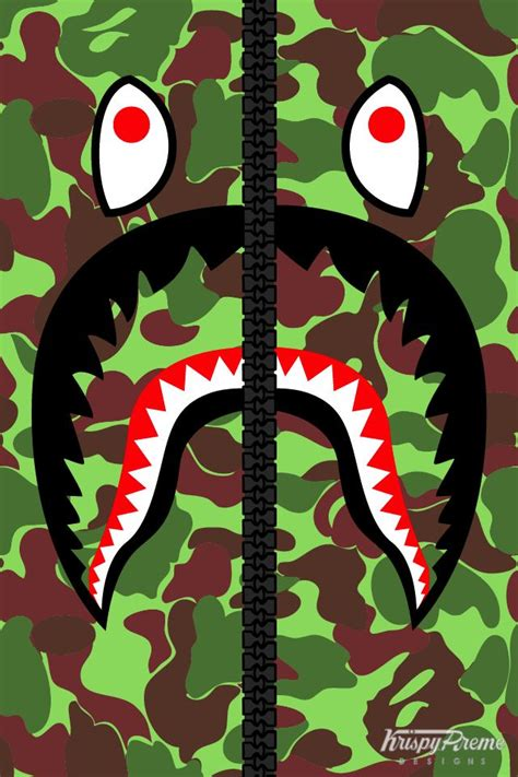 Iphone 7 Bape Shark Camo Pattern Green Hardcase 1255 best images about wallpapers on washington wizards run dmc and iphone 5 wallpaper