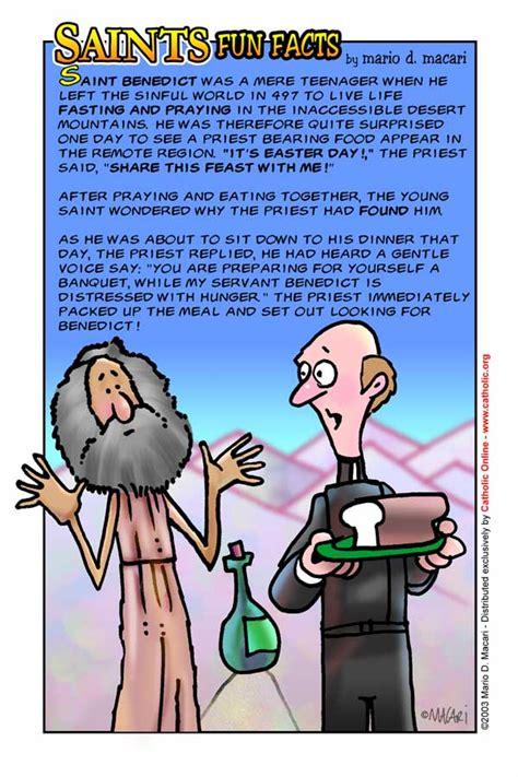st facts saints facts st benedict saints