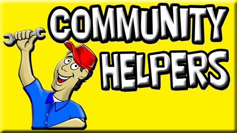 Community Helpers Images For