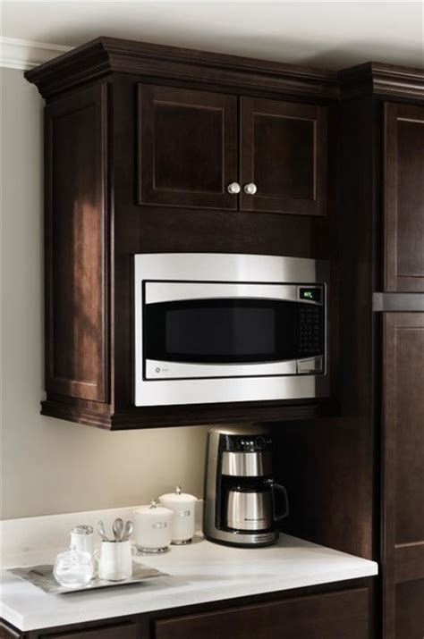 Kitchen Microwave Cabinet homecrest microwave cabinet other metro by masterbrand cabinets inc