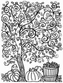 fall coloring pages for adults 100 best images about library centers on