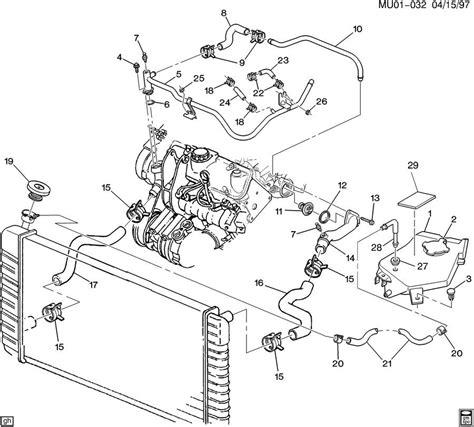 Coolant Hose Diagram On A 2002 Oldsmobile Silhouette | 1999 oldsmobile silhouette hoses pipes radiator