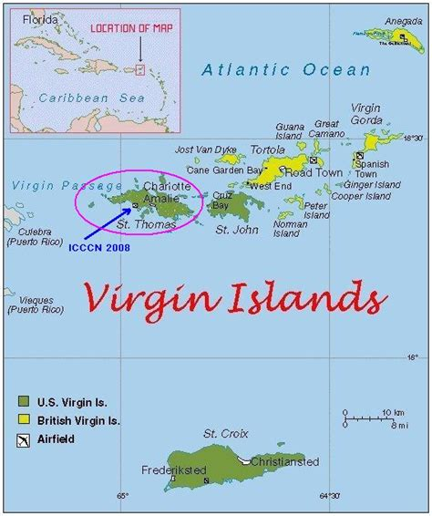 map of st islands st island