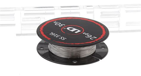 Tt645 Authentic Ud Stainless Steel Wire 24 Awg 05mm Vaporizer Vap 1 65 authentic ud 316l stainless steel resistance wire