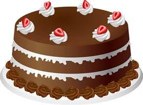 bild auf kuchen chocolate cake clipart