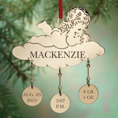 personalized baby ornaments personalized baby ornament baby ornament