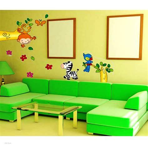 contoh wallpaper dinding ruang tamu gambar rumah idaman