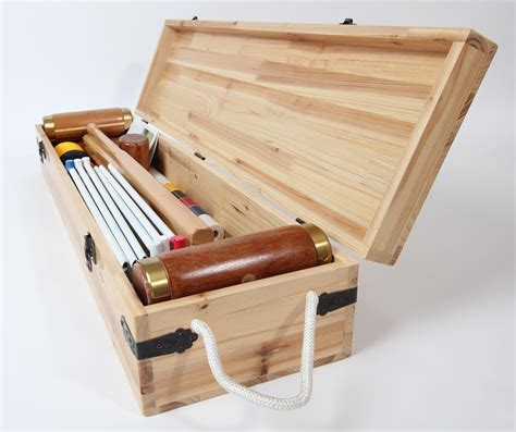woodworking set now in the usa premium croquet sets by wood mallets exportx
