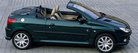 peugeot cabriolet 206 peugeot 206 cabrio auf autoscout24 de finden