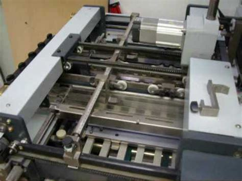 Paper Folding Machines For Sale - horizon afc 564akt paper folding machine for sale 2008