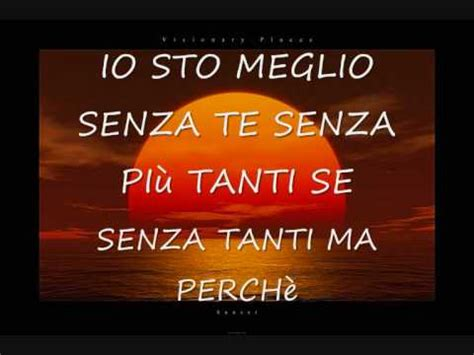 ciao vasco testo lyric