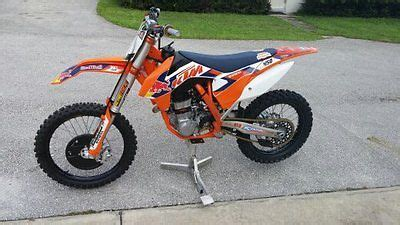 New 16 450 Sx F Dungey ktm 450 sx f factory edition motorcycles for sale
