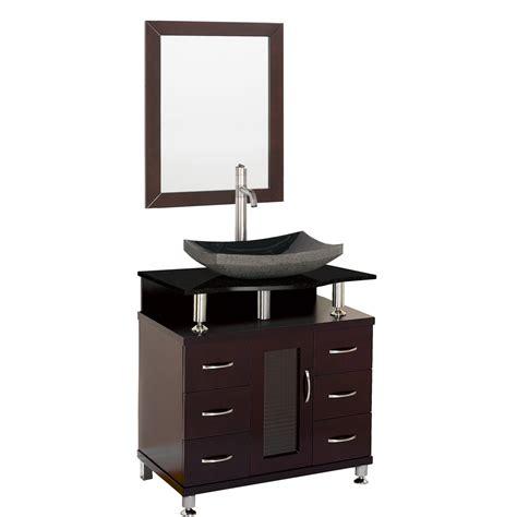 30 black bathroom vanity accara 30 quot bathroom vanity espresso w black granite