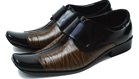 Sandal Kulit Sendal Kasual Formal Pria Keren Distro Terbaru Kn 303 tas sepatu model sepatu kulit pria terbaru