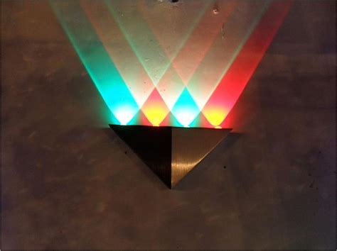 wall light decoration rbg mix color rainbow quality home decoration led wall