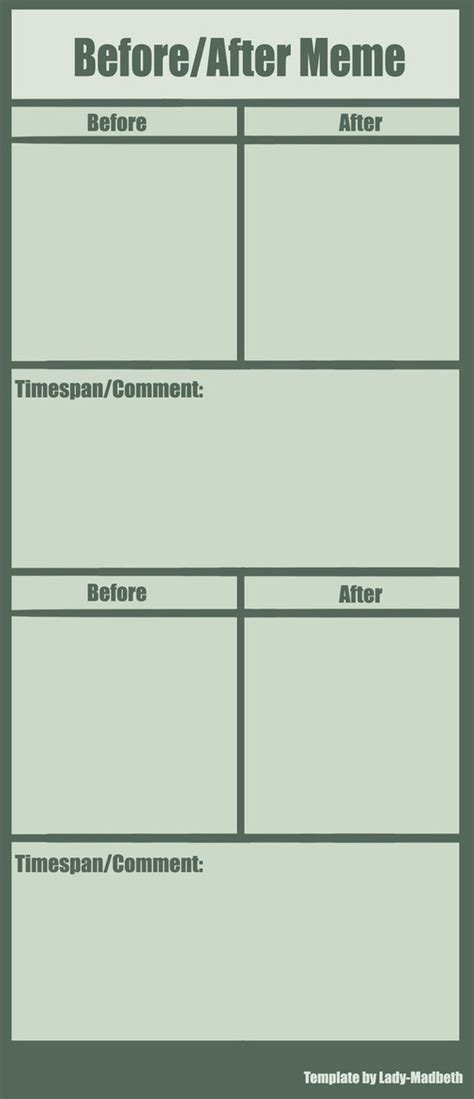 before and after template before after meme template by madbeth on deviantart