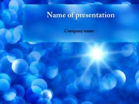 powerpoint templates it free blue sunbeams powerpoint template for