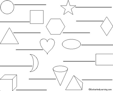 printable shapes in spanish shapes on flags quiz worksheet to print enchantedlearning