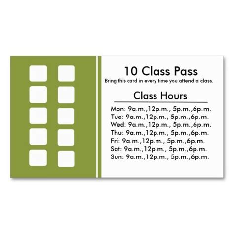 Classification Card Template by 333 Best Images About Fitness Business Card Templates On