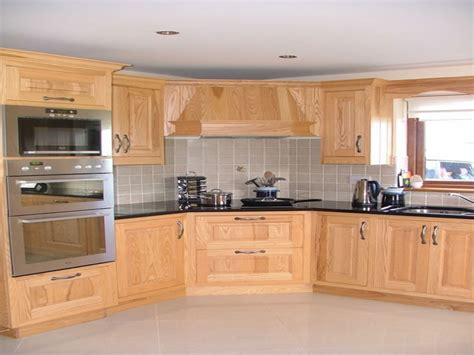 Stainless sink, ash wood kitchen cabinets beech wood