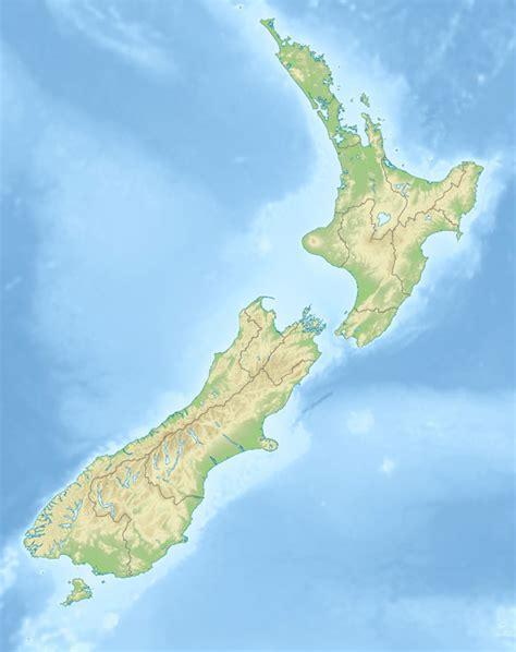physical map of australia and new zealand large detailed physical map of new zealand new zealand