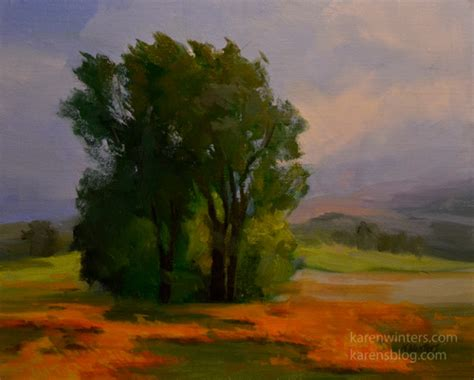 california central coast landscape painting