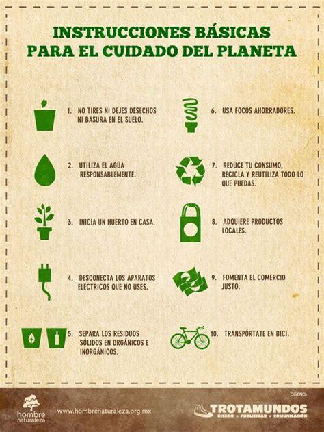 instrucciones b 225 sicas para el cuidado del planeta estilo verde