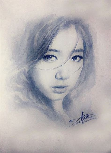 sketchbook korean sketch parkshinhye park shin hye