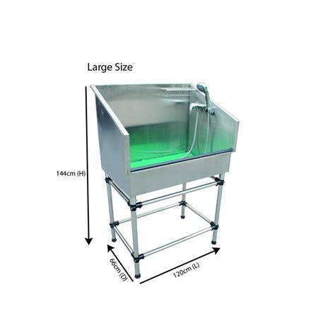 steel shower bath pluto static stainless steel shower pet bath buy now