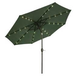 Patio Umbrella With Lights Patio Umbrella With Solar Lights June 2017