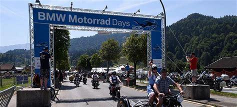 Bmw Motorrad Days 2015 Probefahrten by Countdown F 252 R Die 16 Bmw Motorrad Days In Garmisch