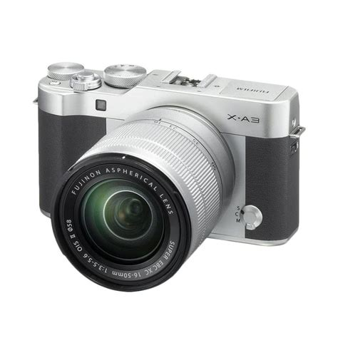 Fujifilm X A3 Kit Lens 16 50mm Kamera Mirrorless Pink solopos store canon eos 100d ef s 18 55mm is stm