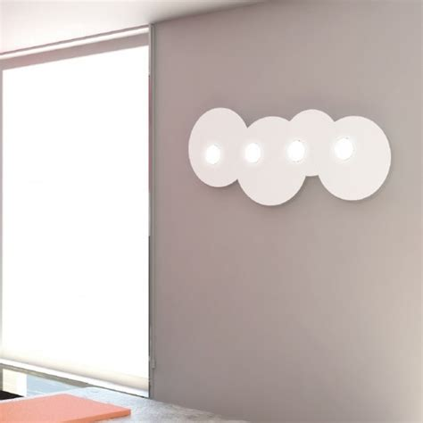 top light illuminazione top light illuminazione plafoniera parete cloud 1128 pl4 r