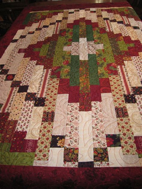 Quilts Made With Jelly Rolls by Quilt Made From Jelly Roll Strips And Jelly